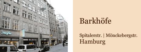 Barkhöfe Hamburg